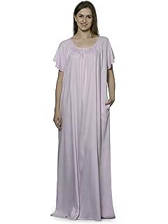a802c808af Patrorna Blended Women s Embellished A-Line Nighty Night Dress Gown ...