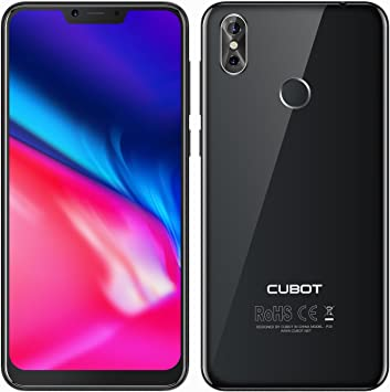 CUBOT P20-6.18 Pulgadas 19:9 - Android 8.0 4G Smartphone Octa Core ...