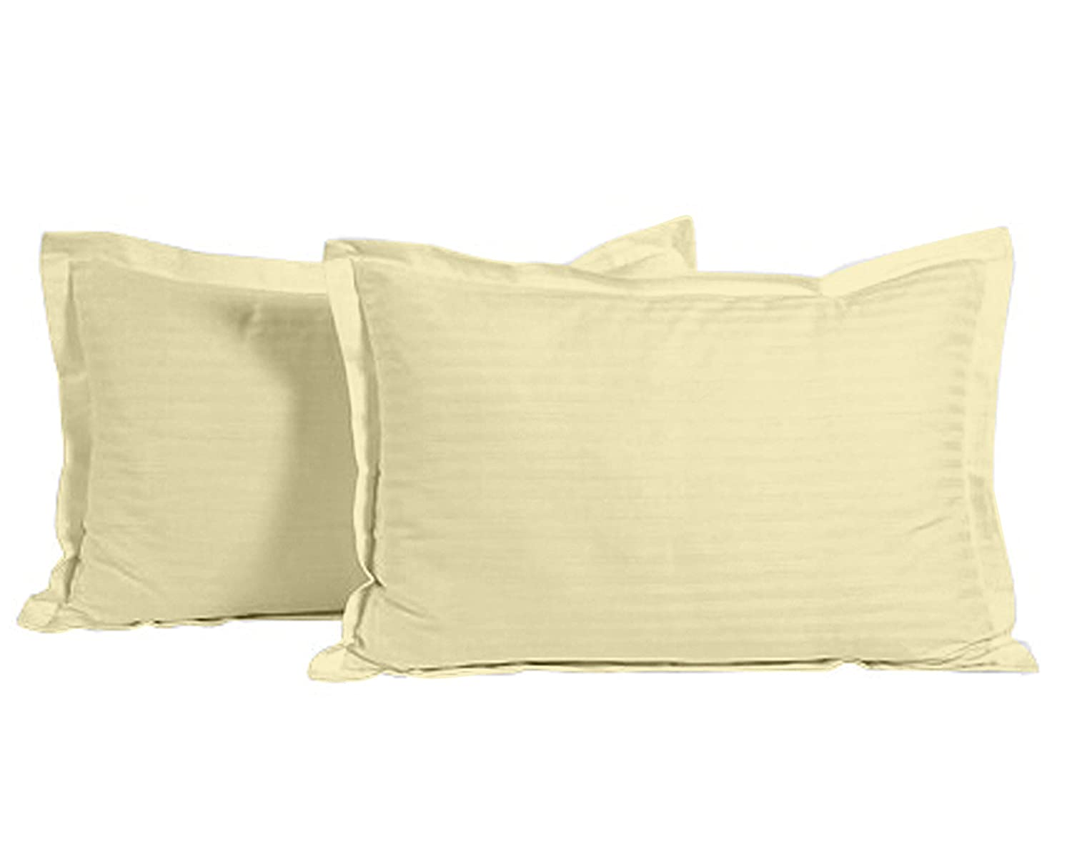 Ahmedabad Cotton Luxurious 2 Piece Sateen Pillow Cover Set -