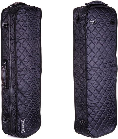 Tonareli funda protectora VACCO1000 viola case cover for oblong fiberglass - Black: Amazon.es: Instrumentos musicales