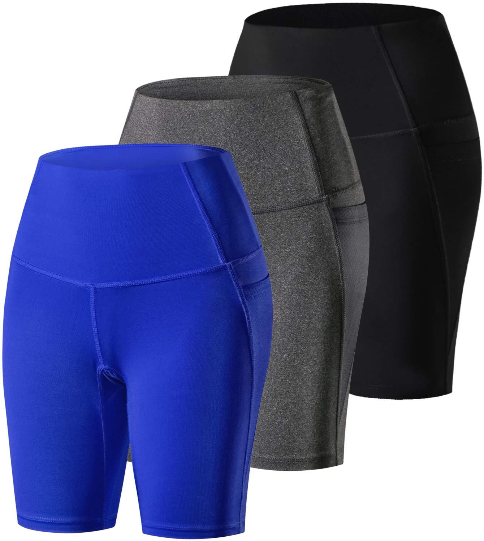 【楽天スーパーセール】 laventoレディース圧縮ショーツポケットワークアウトランニングヨガショーツ B07GXLTT7K 3 Black/Gray/Blue Pack-9006 B07GXLTT7K Black/Gray/Blue Pack-9006 Large Large|3 Pack-9006 Black/Gray/Blue, 立田村:f05517a8 --- svecha37.ru