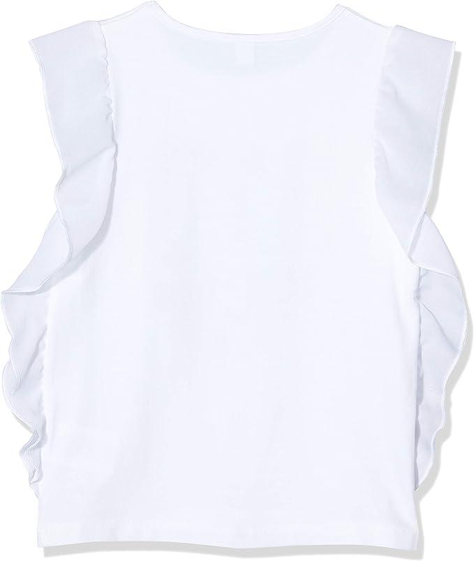 T-Shirt Jersey Cuore Bambina Bianca Sea Riders