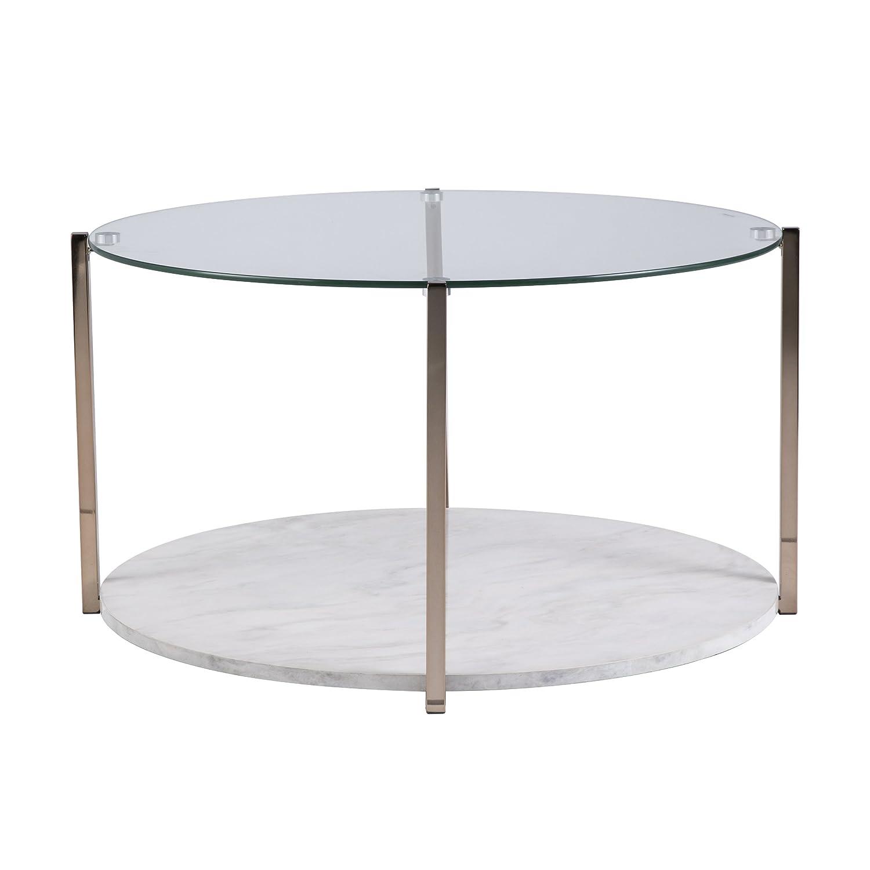 Amazon Furniture HotSpot – Faux Marble Coffee Table w Storage