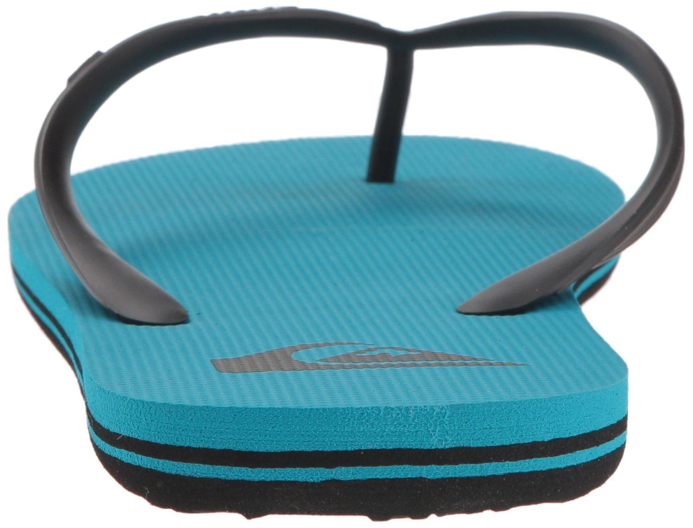 Quiksilver Men's Molokai Sandal, Black/Blue/Blue, 13 M US by Quiksilver (Image #2)