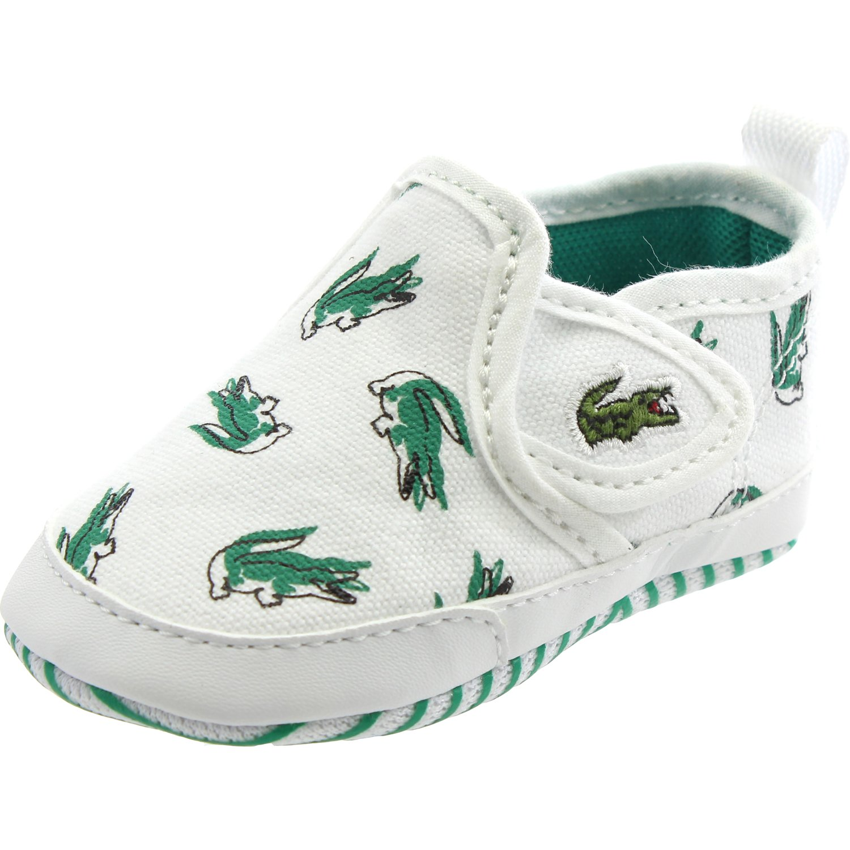 64ae6771800 Lacoste Gazon Crib 118 1 White Green Textile 16 EU  Amazon.fr  Chaussures et  Sacs