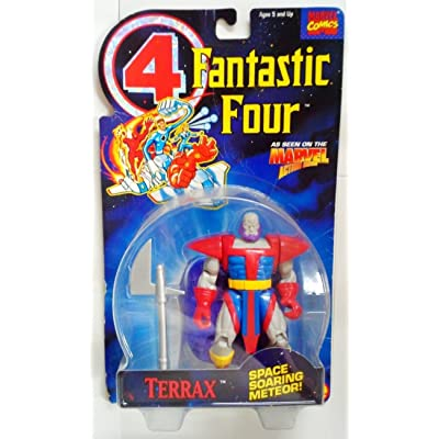 Fantastic Four Terrax Action Figure: Toys & Games