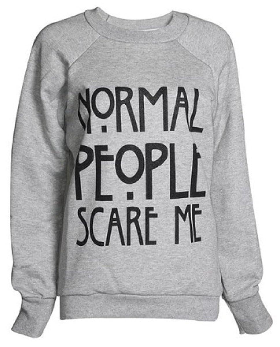 Crazy Girls Womens Act Like A Lady Double Aztec Skull Print Fleece Sweatshirt