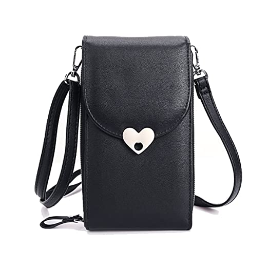 a1c49ea0499 Women Small Crossbody Bag Cell Phone Purse Shoulder Bags Girls Trendy  Smartphone Wallet With Credit Card Slots