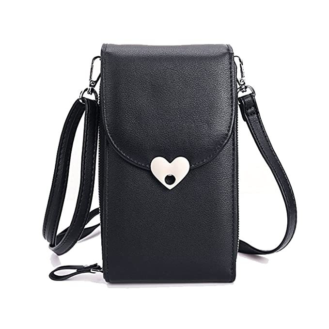 bc29d31a8f26f Small Crossbody Bags Cell Phone Purse Wallet Leather Pouch Card Houlder Shoulder  Strap Handbag Women Girls