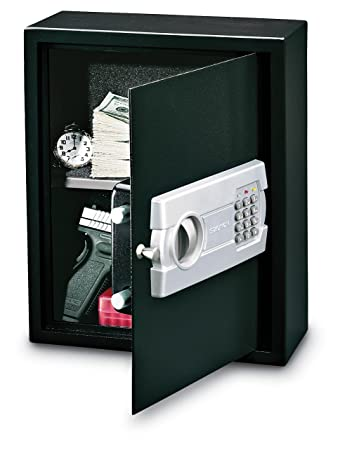 Stack On Pds  Drawer Or Wall Safe With Electronic Lock