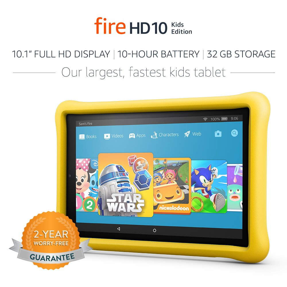 All-New Fire HD 10 Kids Edition Table
