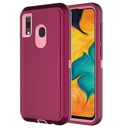 Amazon.com: Hapitek A20 - Carcasa para Samsung Galaxy A20 y ...