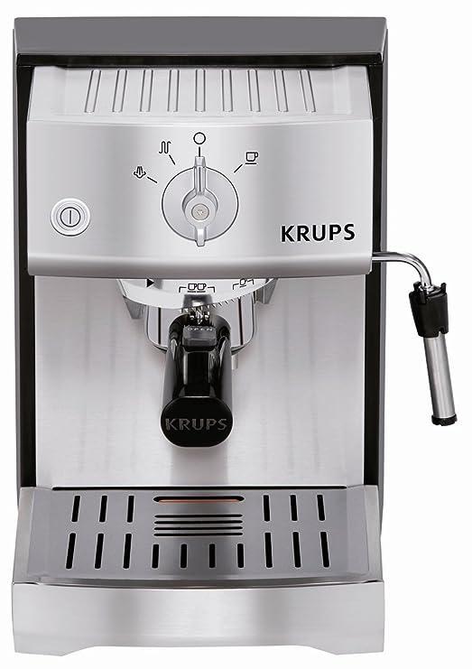 Krups Classic Pro Inox - Cafetera espresso, 1400 W: Amazon ...
