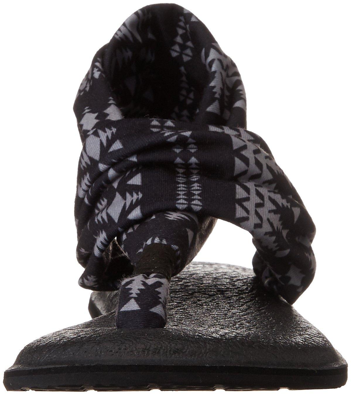 Sanuk Women's 6 Yoga Sling 2 B01IALU5QE 6 Women's M US|Black / Natural Koa Tribal f667f3