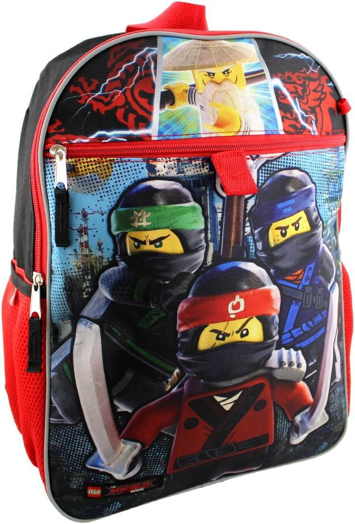 Amazon.com: LEGO LNCF519ZA Ninjago - Mochila de 16 pulgadas ...