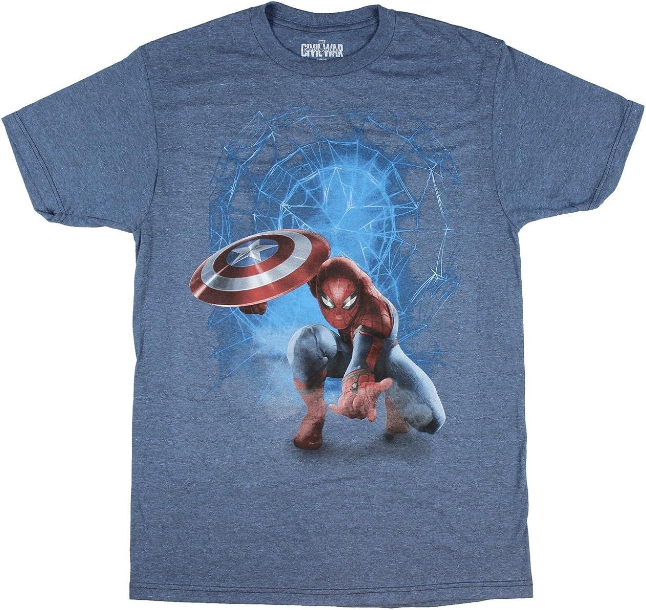 Marvel Comics Boys Civil War Graphic T-Shirt