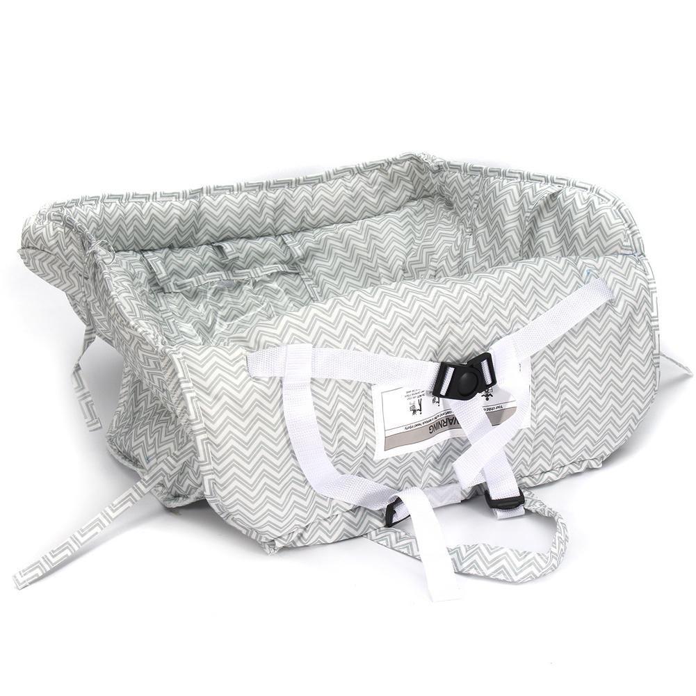 Diuspeed Dual-Use couverture de caddie caddie et couverture de chaise /élev/ée pour le b/éb/é et les bambins-plis dans la pochette pour le transport facile
