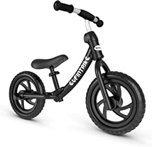 "besrey Balance Bike Kids Toddler for 2 3 4 5Year Old Boy Girl - 12"" Wheel"