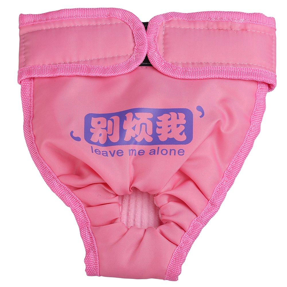 zrong hembra Pet higiénico fisiológica Sanitaria pañal pañales de ropa interior para hombre breve para mediano y grande de perro: Amazon.es: Productos para ...