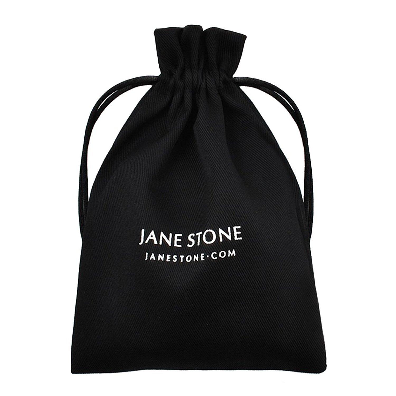 Jane Stone Sterling Silver Earrings Cubic Zirconia Halo Earrings Leverback Earrings Round Rhinestone Dangle Earrings Wedding Jewelry for Women Bridal by Jane Stone (Image #7)