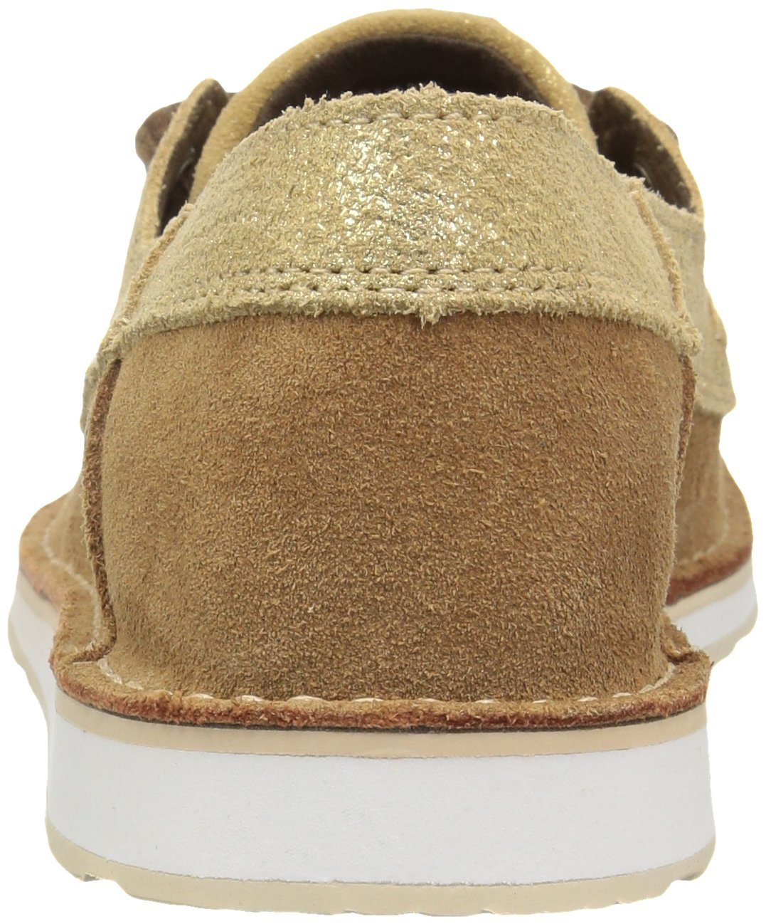 Ariat Women's Cruiser Slip-on Shoe B071ZHKF7R 11 B(M) US Rustic Bark/Sparklin' Gold