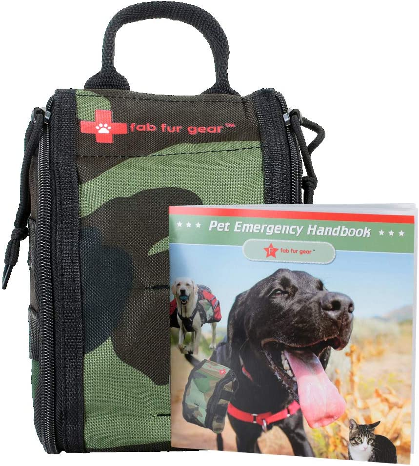 FAB FUR GEAR Dog First Aid Kit & Safety Supplies