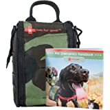 FAB FUR GEAR Dog First Aid Kit & Safety Supplies, Camo Pack for Pets for Car, Home, Training, Walking, Camping; Survival & Em