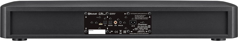 Pioneer SBX-B30 - Barra de sonido (Dolby Digital 2.2, 130 W, Bluetooth, incluye mando a distancia), color negro: Amazon.es: Electrónica
