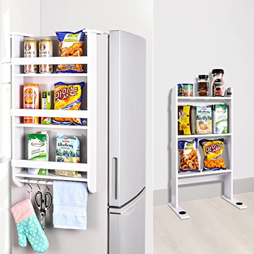 Estante de almacenamiento lateral para frigorífico o cocina ...