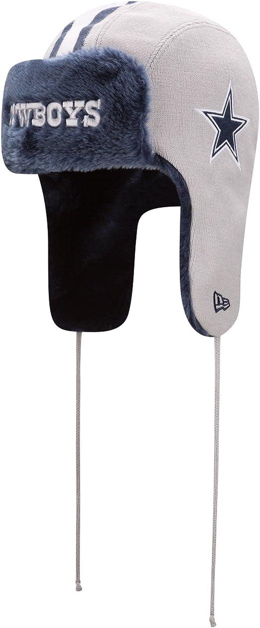 New Era Helmet Head Knit Trapper One Size