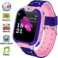 Reloj inteligente para niños y niñas, regalo de cumpleaños con cámara, música, 7 juegos, pantalla táctil, reloj…