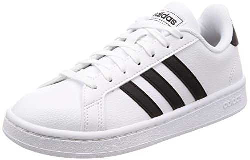 ADIDAS Baskets Grand Court Femme Blanc et or