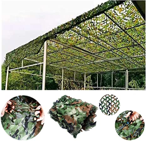 Toldos para Jardin Red de Camuflaje Selvático 2mx3m 3mx5m, Red De Camuflaje Red de Refuerzo de Malla de Sombra Protector Solar for Sol Red, for Ocultar Carpa Decoración Jardín Tienda Pesca: Amazon.es: