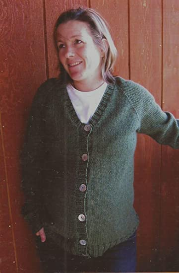 e12760995 Image Unavailable. Image not available for. Color  Knitting Pure   Simple  Knitting Pattern 274 Top Down V-Neck Maternity Cardigan