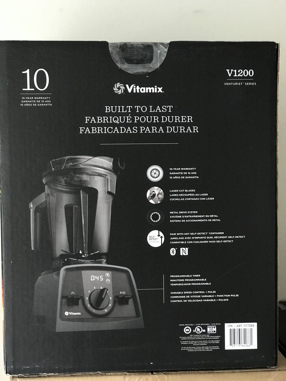 Amazon.com: Slate V1200 SELF-DETECT Blender with 64oz(2L) Container+20oz(600ml) Blending Cup+8oz(235ml) Blending Bowl+ Blade Base: Kitchen & Dining
