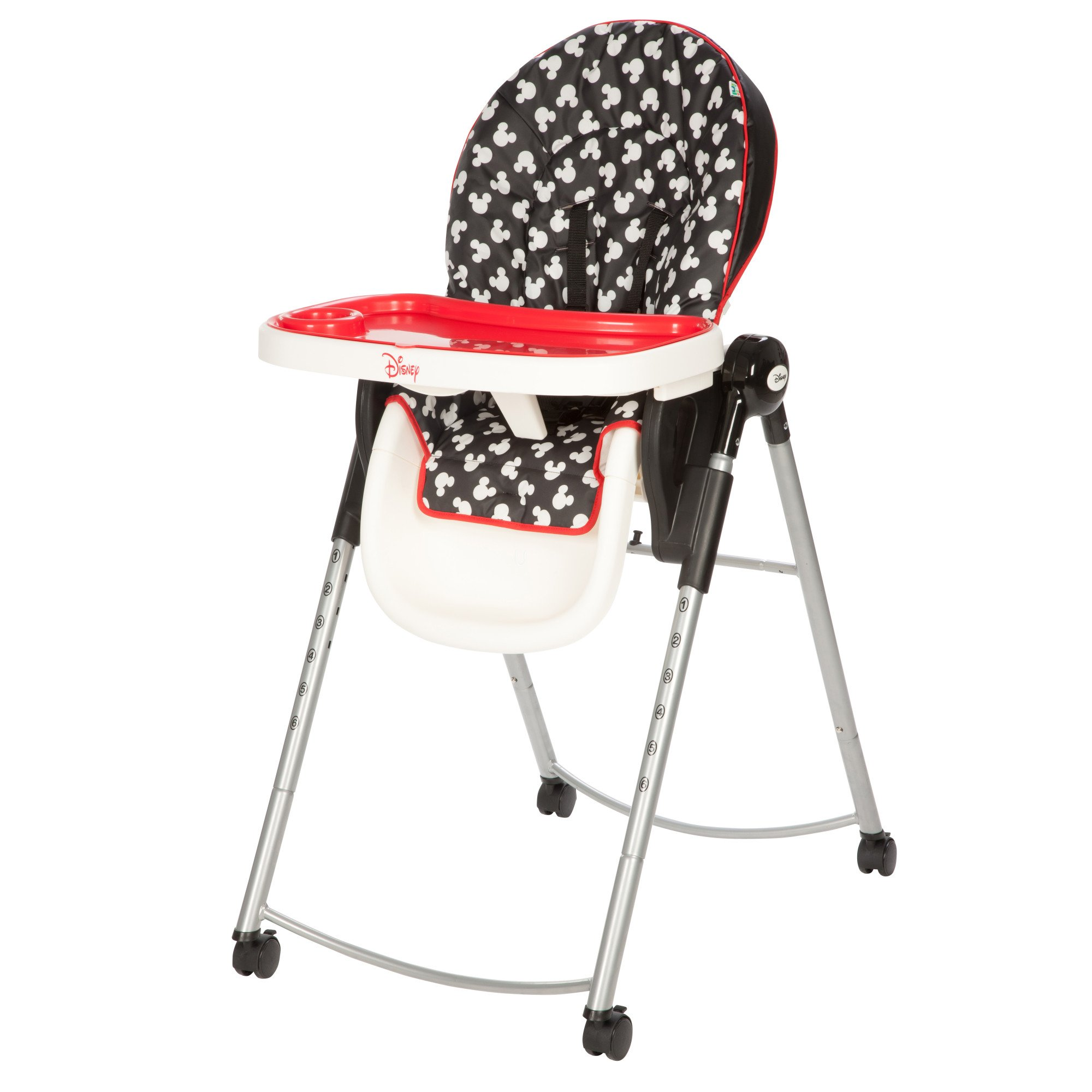 Disney Adjustable High Chair, Mickey Silhouette