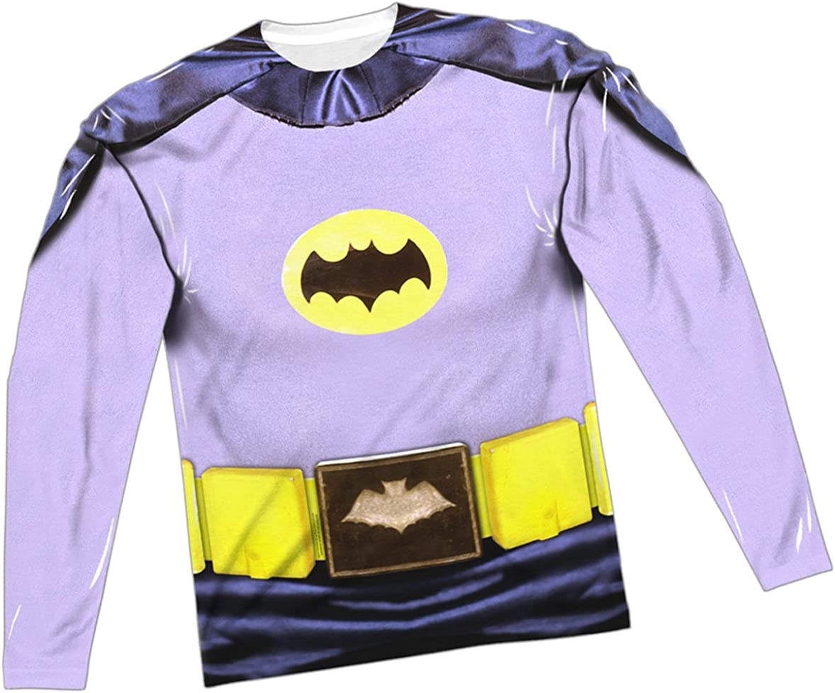 Batman Classic Costume Allover Sublimation Licensed Adult T-Shirt