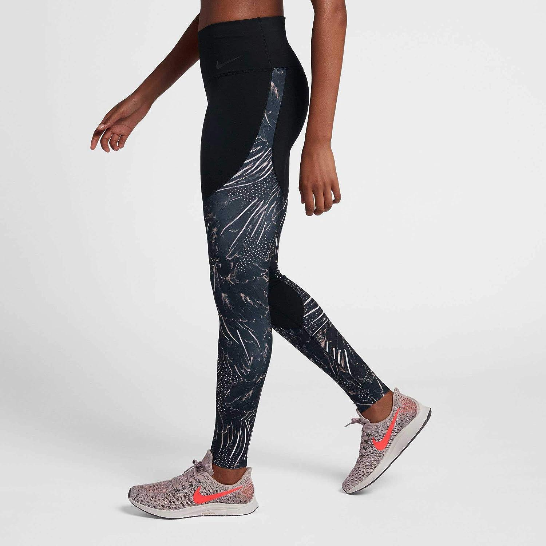 d19480be6164ea Amazon.com: Nike Women's Power Gym Tight - Flutter Print: Clothing