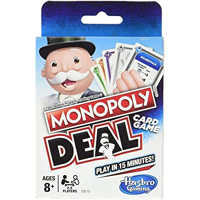 Monopoly Deal Games-Family Game Card: Toys & Games