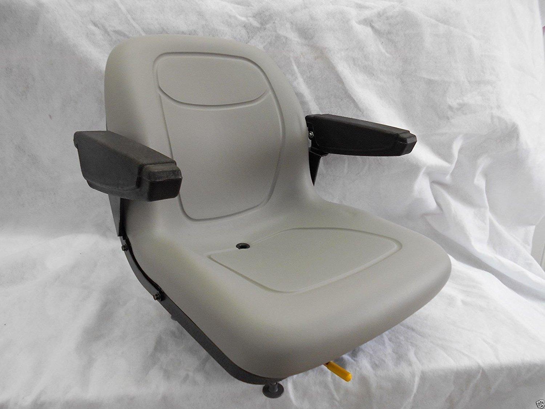 Amazon com : MILSCO Gray SEAT with ARM Rests Hustler, Dixie Chopper
