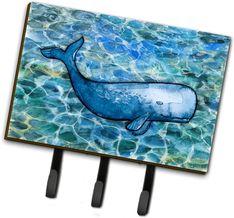 Multicolor Carolines Treasures BB5337TH68 Whale Tail Leash or Key Holder Triple
