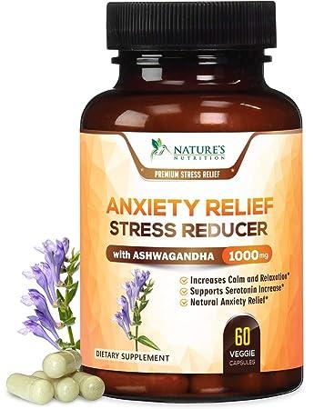 Amazon.com: Suplementos de ansiedad de alta potencia, alivio ...