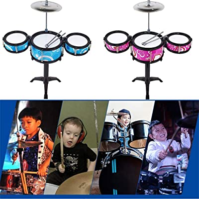 Etuoji Children Simulation Jazz Drum Kit Toy Musical Instrument Percussion Toy Pianos & Keyboards: Clothing