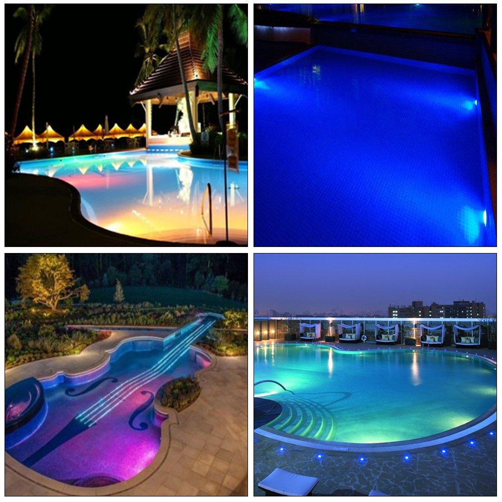 SMD LED Pool Schwimmbad Beleuchtung blau PAR56 Leuchtmittel Außen Lampe IP68