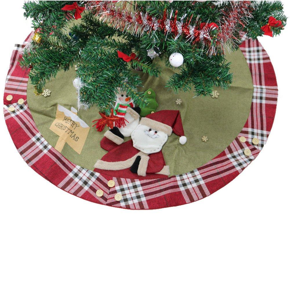 Labellevie 120 cm Baumdecke Weihnachtsbaum Decke Weihnachtstannen ...