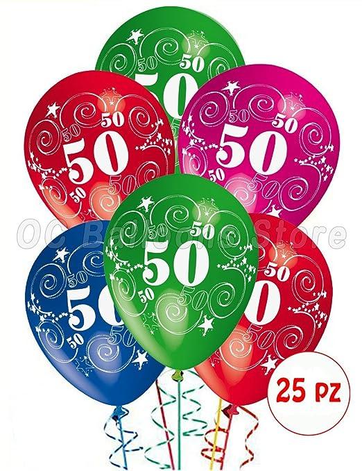 5 opinioni per Palloncini Compleanno 50 anni addobbi e decorazioni per feste party confezione