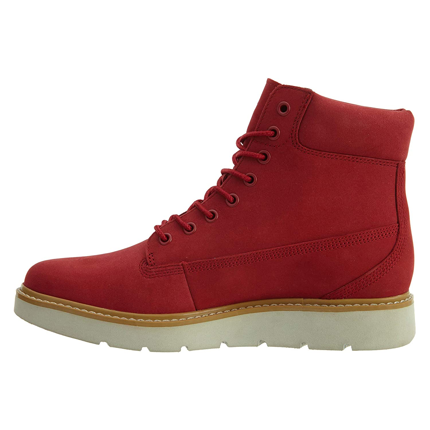 Timberland Women S Limited Release Ruby RED Kenniston 6-inch Lace-up Boots  (8.5)  Amazon.co.uk  Shoes   Bags dfb2e7f81