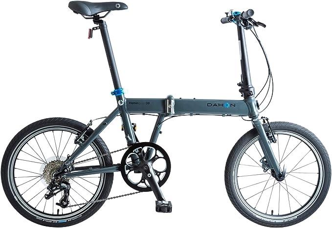 Dahon Hemingway - Bicicleta Plegable Unisex para Adulto, Plata, 20 Pulgadas: Amazon.es: Deportes y aire libre