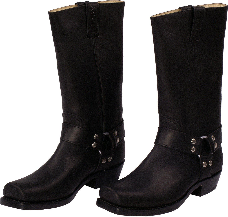 Sancho Stiefel Stiefel Sancho Herren Damen Stiefel schwarz Schwarz 8ad5be