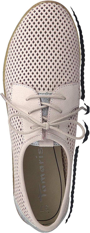 Tamaris 1-1-23603-22 Femme Chaussures de Sport Lacets,Chaussures,Chaussures à Lacets,Chaussures de Rue,Baskets,Chaussure Sportives,élégant,décontracté,Touch-IT Rose